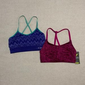 Old Navy and Champion C9 sports bra bundle